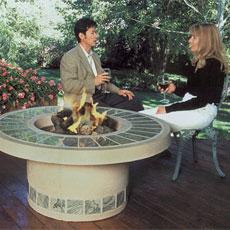 Chimeneas de exterior otra forma de decorar nuestro jard n - Chimeneas para jardin ...